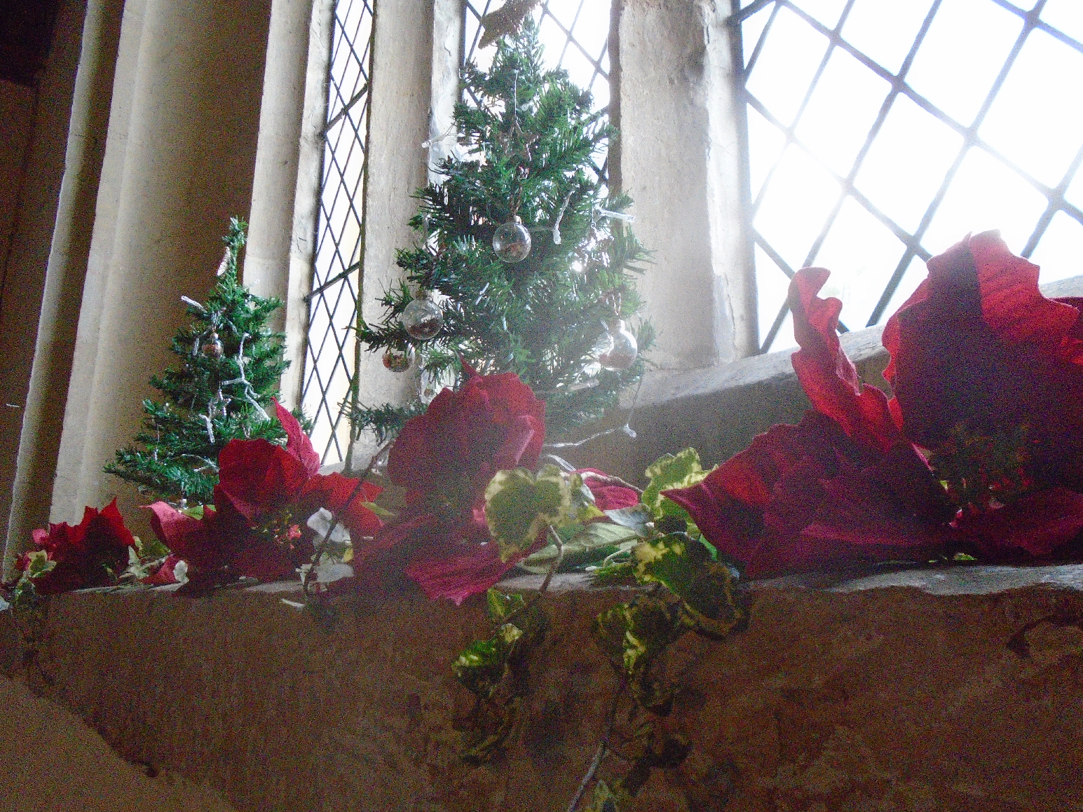 Christmas Flowers Willersey Church 2019 27