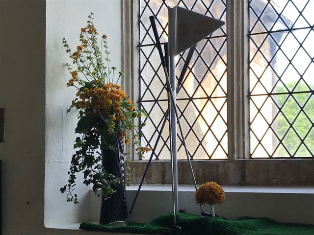 Flowers Willersey Church 2018 Bell Inn Golf