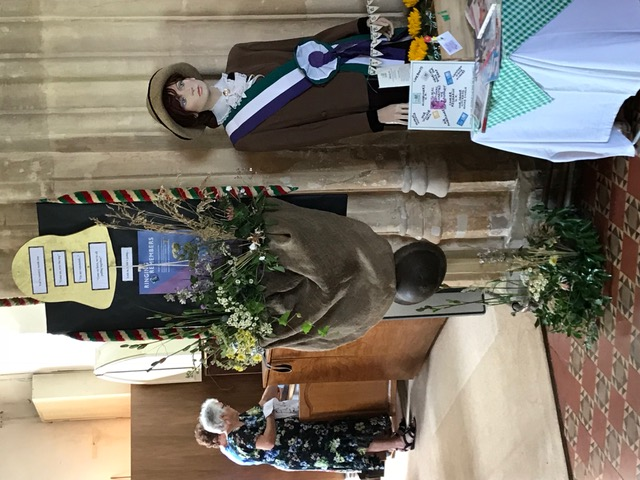 Flowers Willersey Church 2018 Bell Ringers