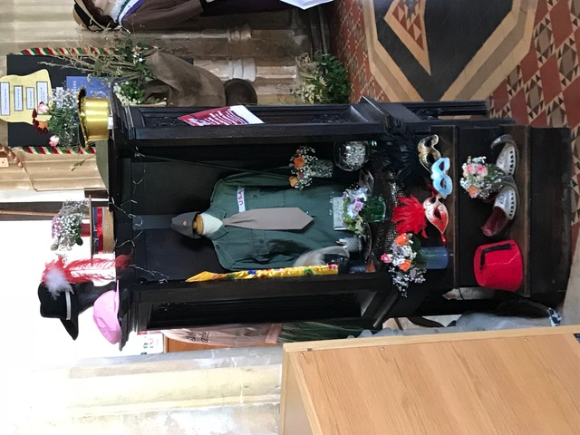 Flowers Willersey Church 2018 Footlights 1