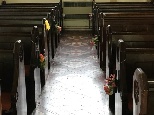 Flowers Willersey Church 2018 School 1