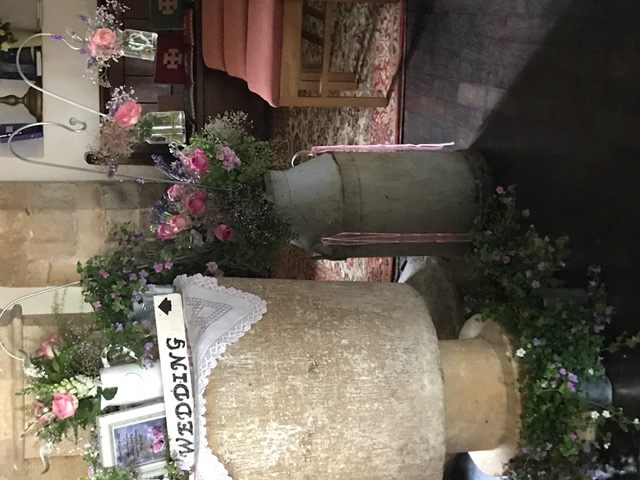 Flowers Willersey Church 2018 Village Hall 2