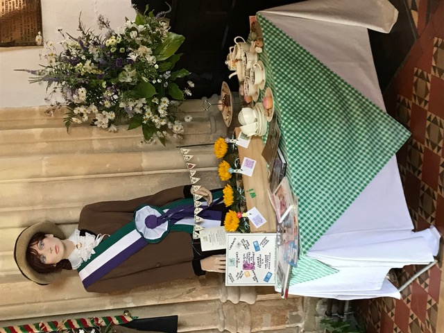 Flowers Willersey Church 2018 Women's Institure