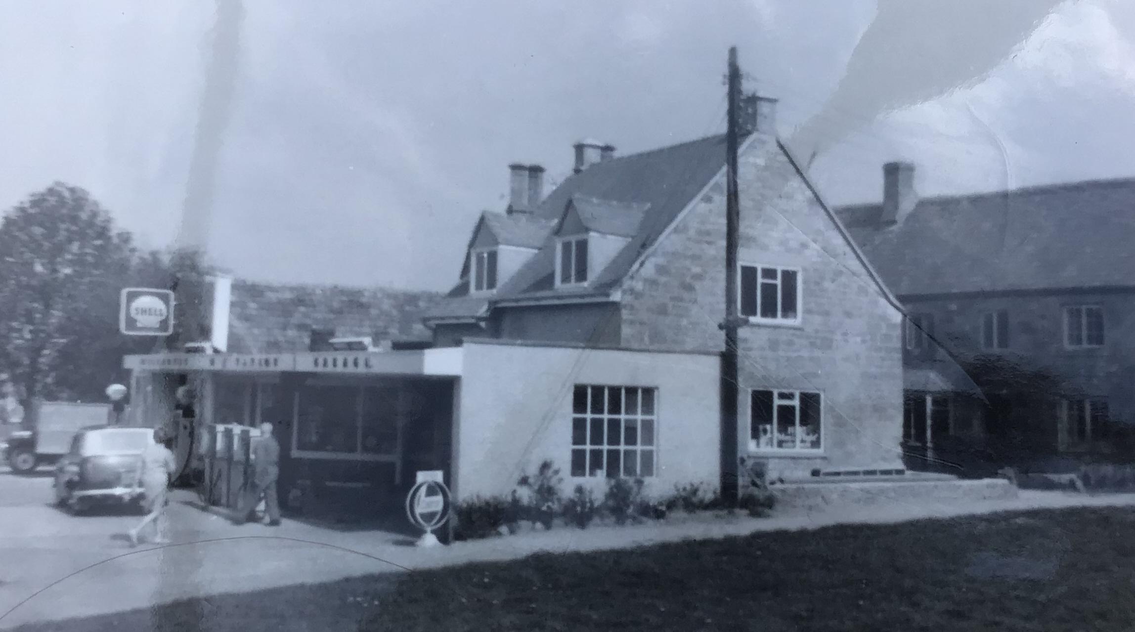 Willersey Garage in 1970