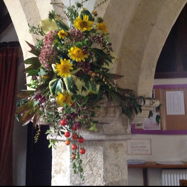 Harvest Flowers Willersey 2017 01
