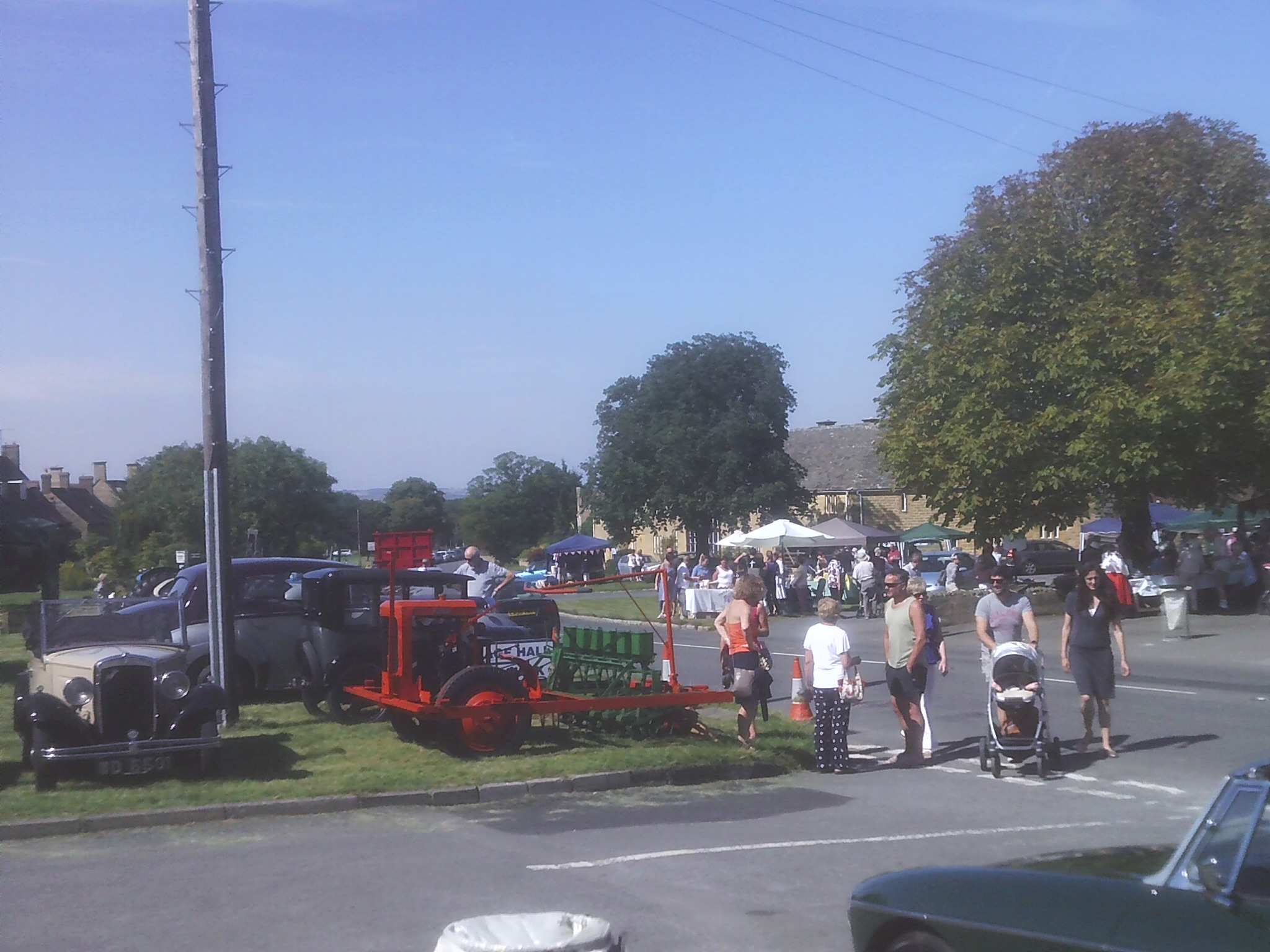Overall View at the Willersey Show