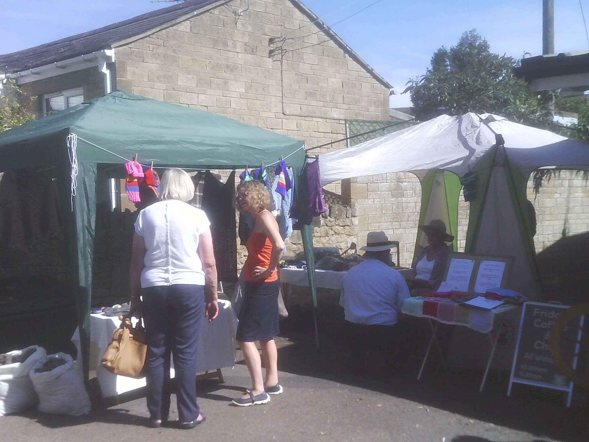 Stall at the Willersey Show