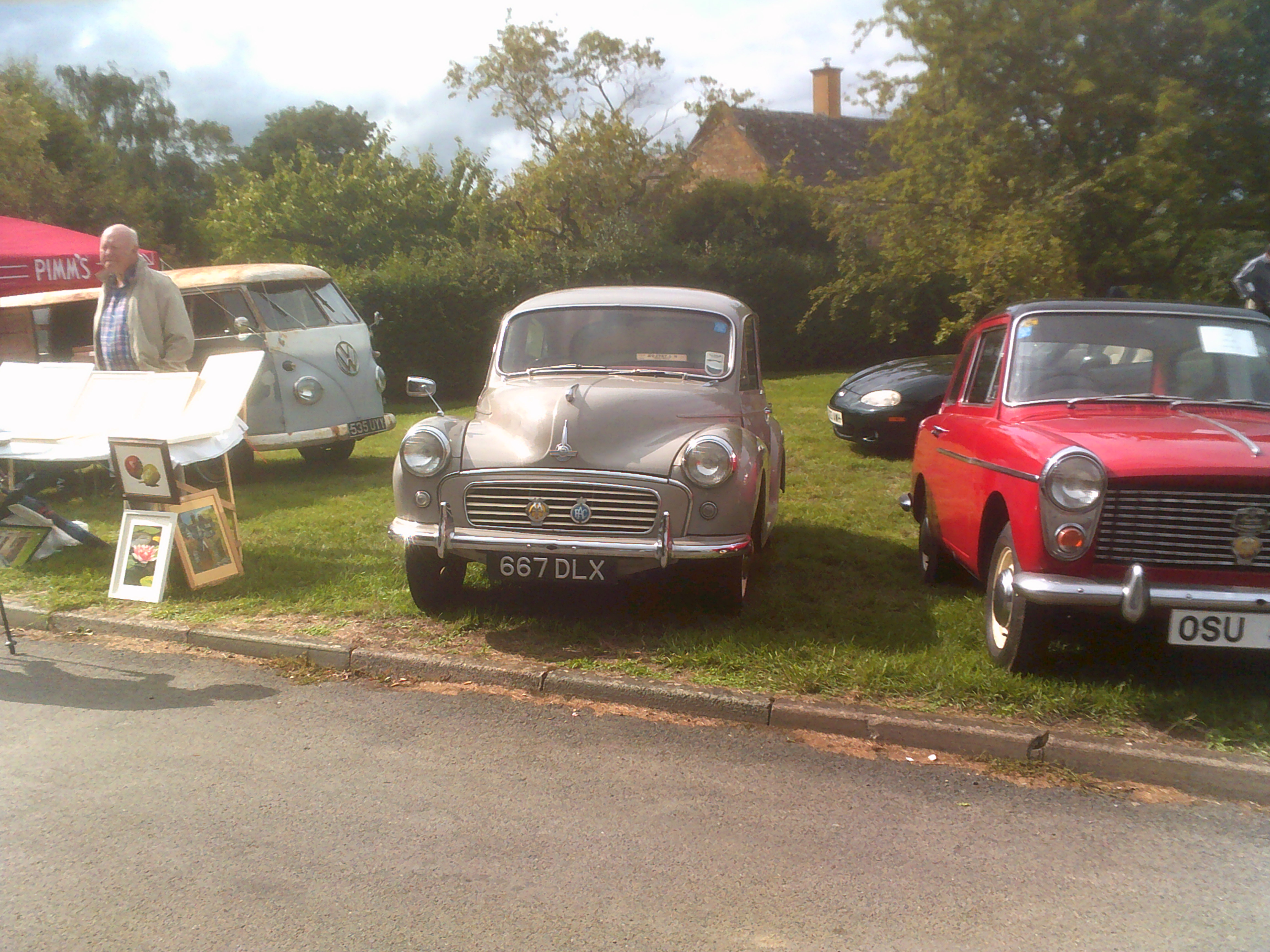 Morris Minor at the Willersey Show