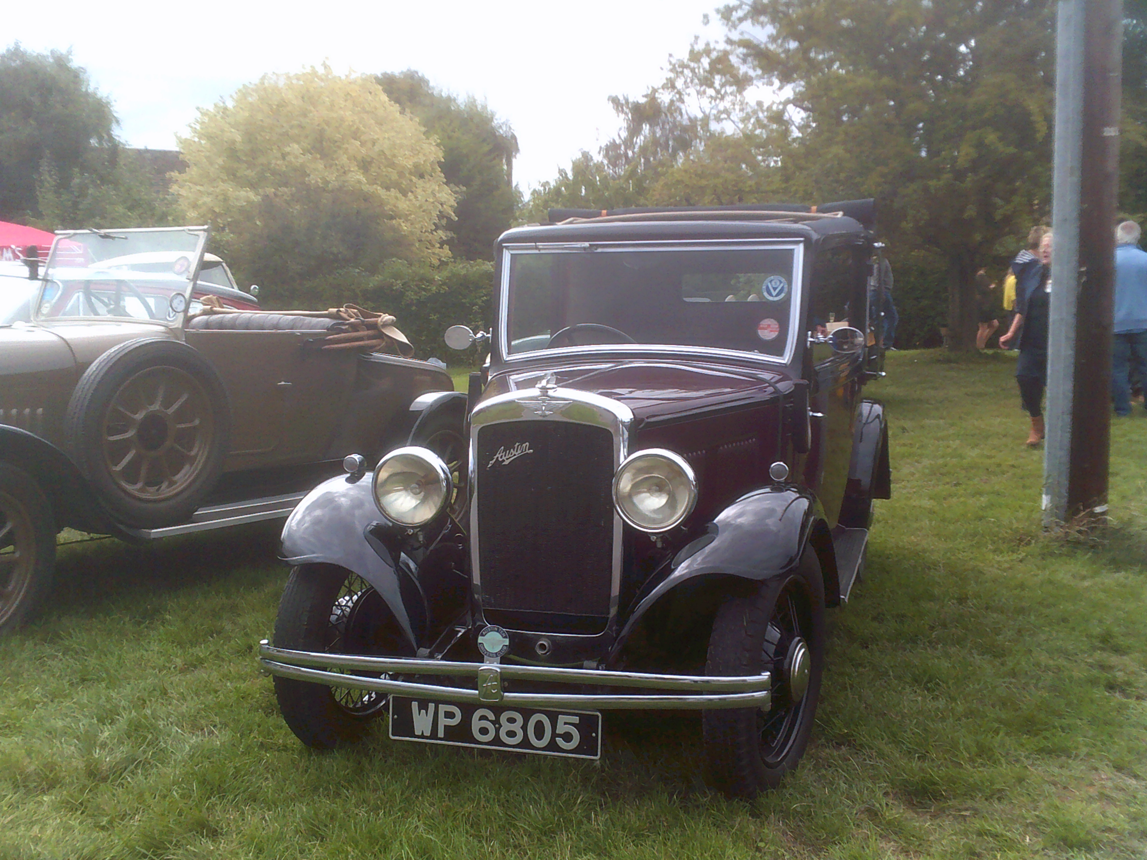 Old car at the Willersey Show