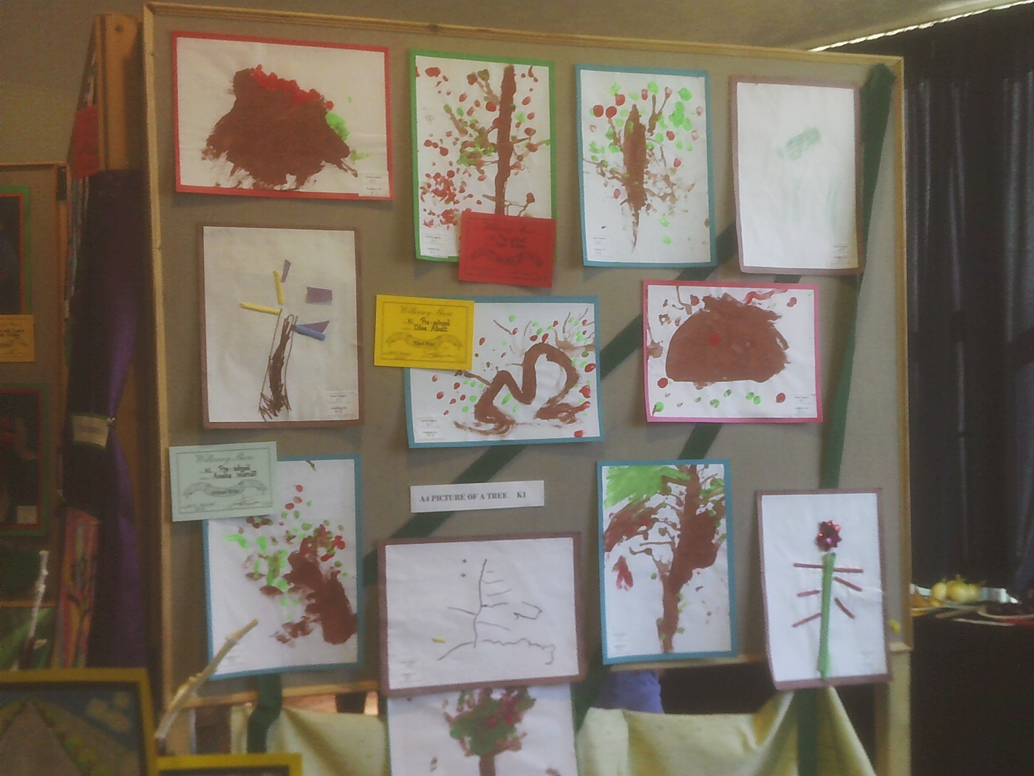 Drawings at Willersey Horticultural Show