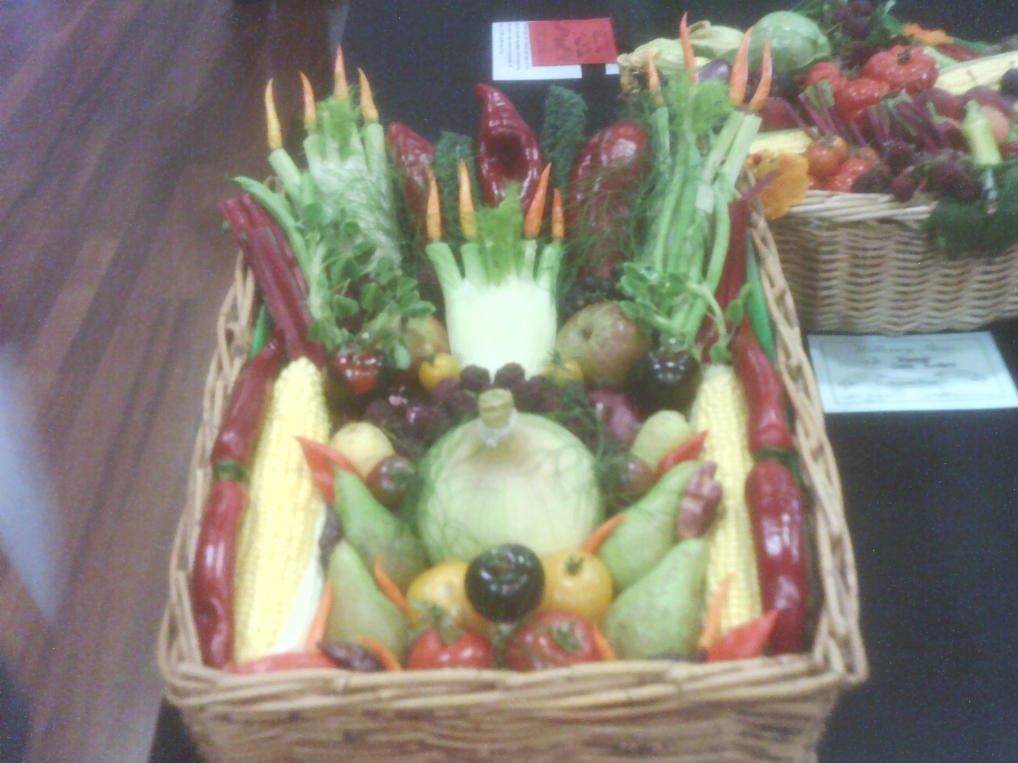 Basket won at Willersey Horticultural Show