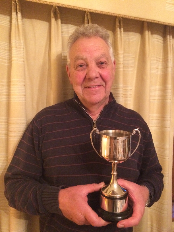 Peter Bond with Eric Beadle Cup