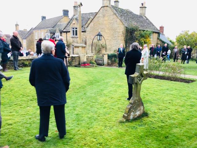 Willersey War Memorial Remembrance Service 2020 03