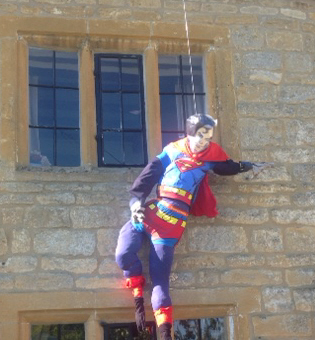 Is it a bird? Is it a plane? Scarecrow