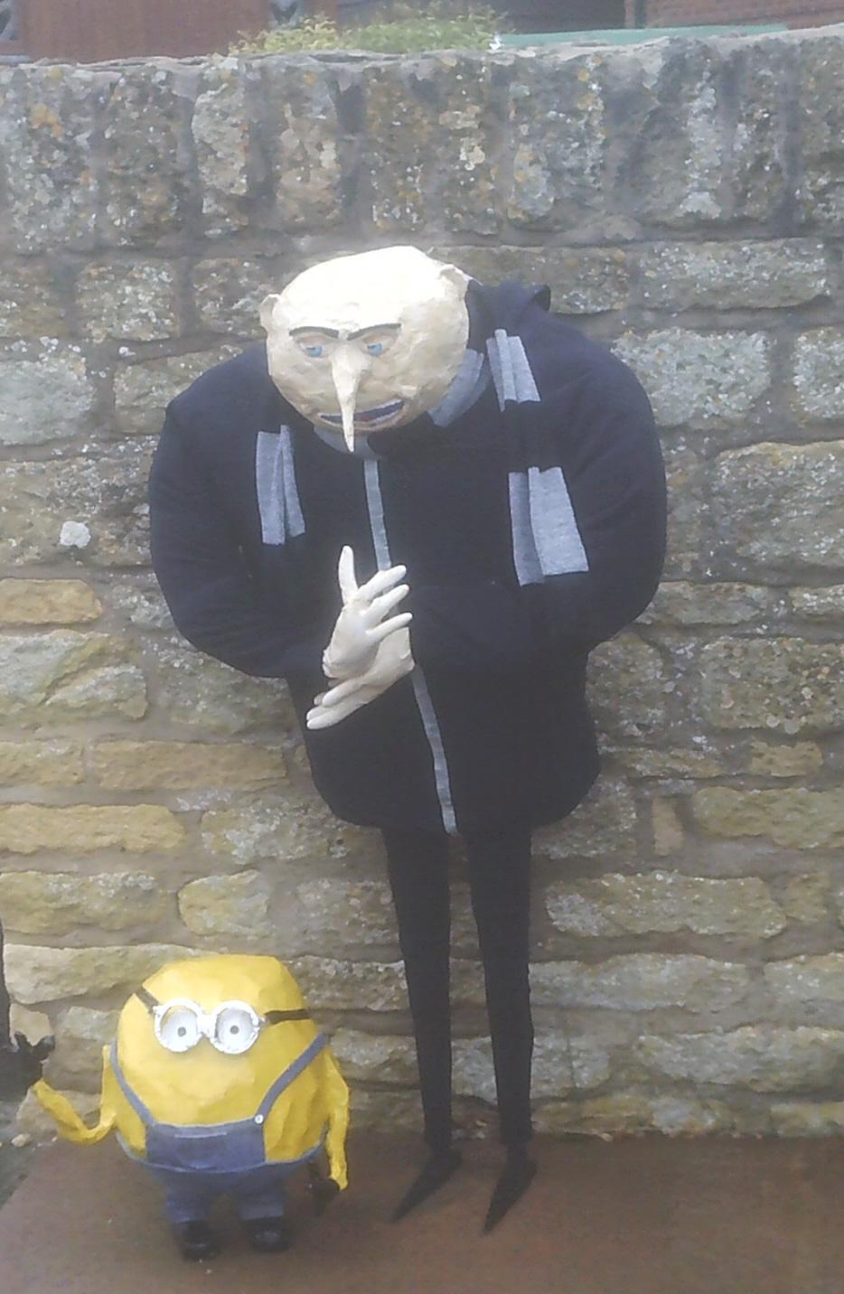 Despicable Me Scarecrow