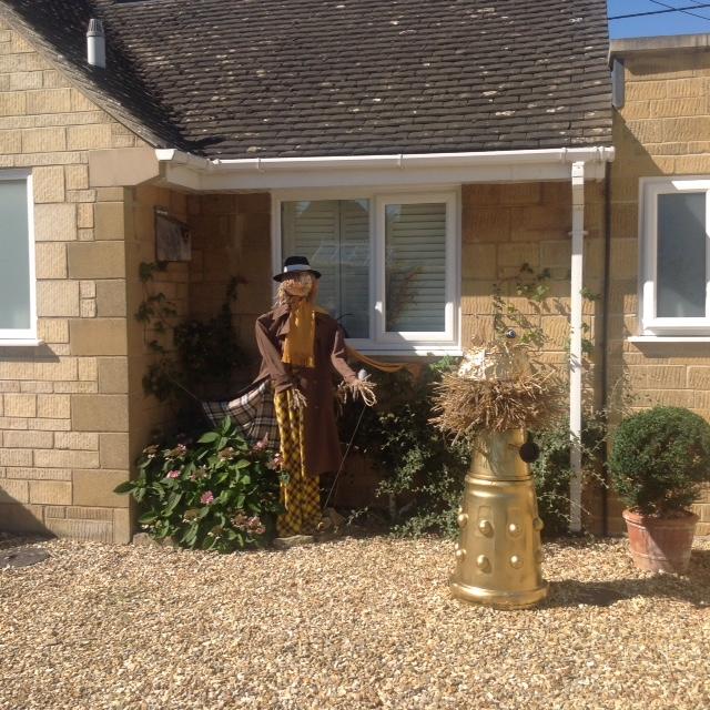 Exterminator Scarecrow