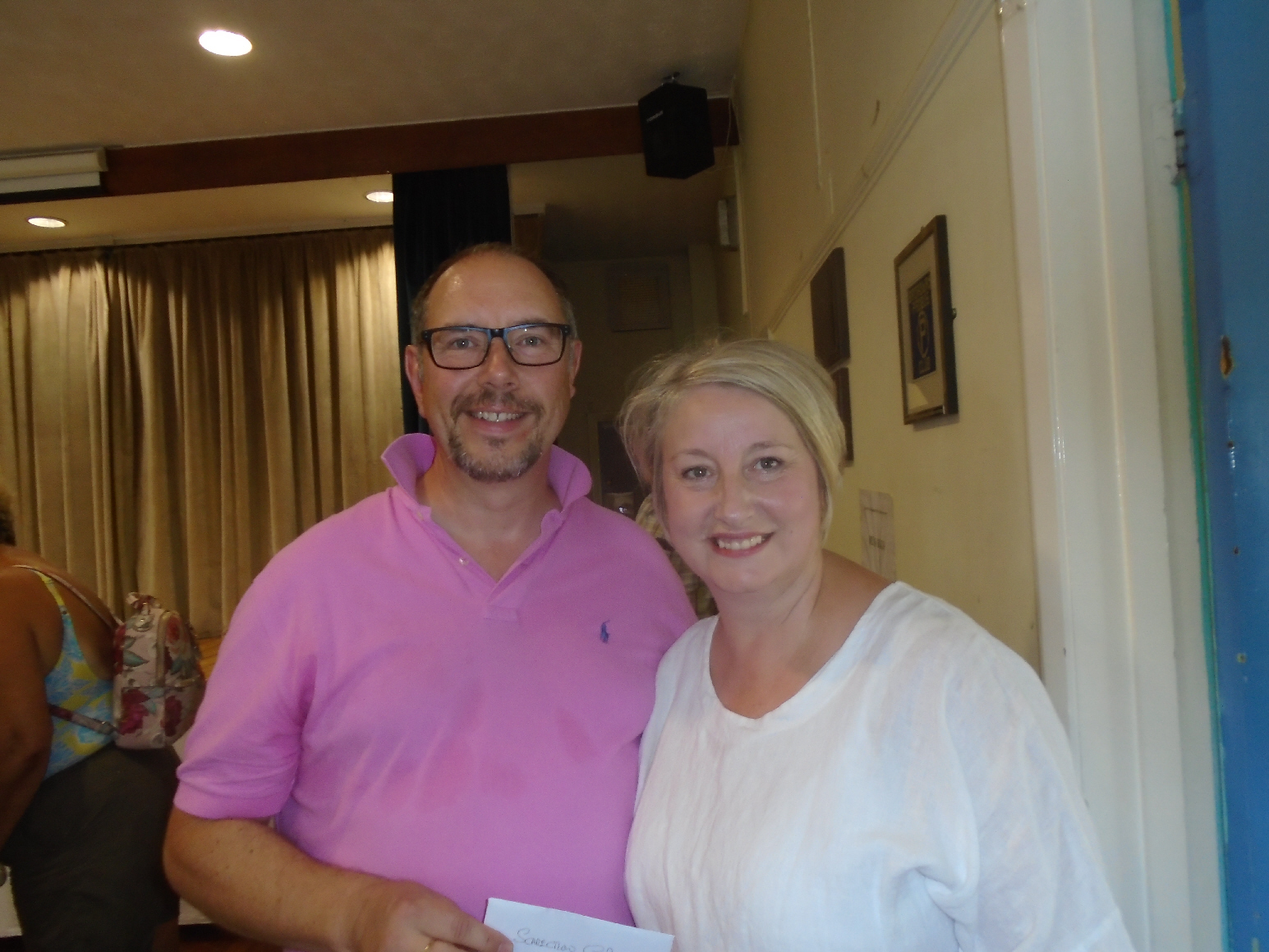 Carole and Gary Taylor, Willersey