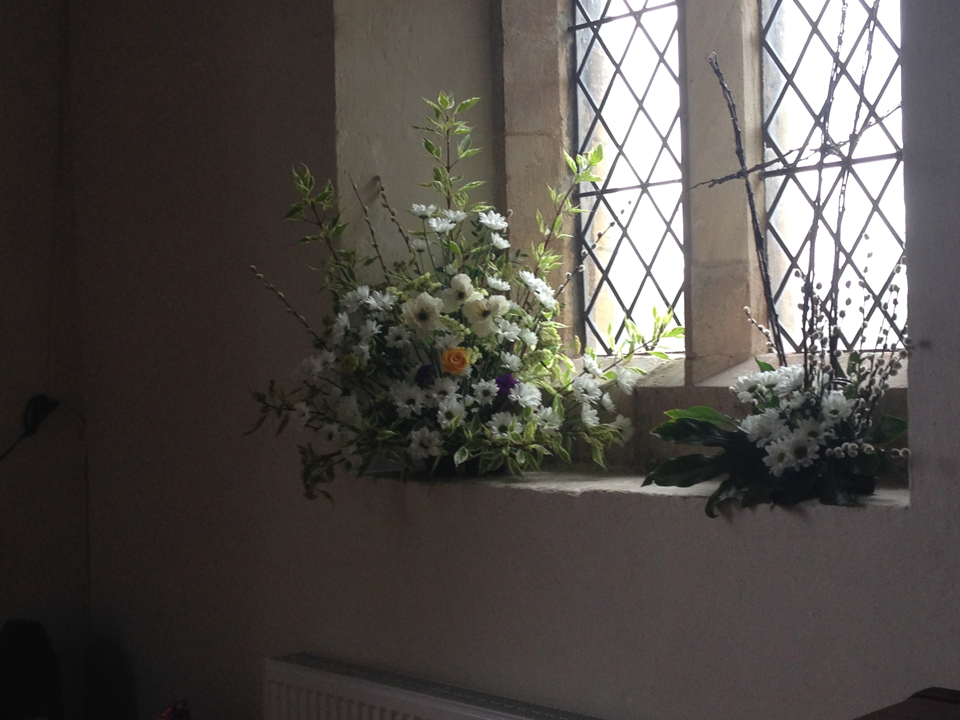 Flowers Willersey Church 2017 07