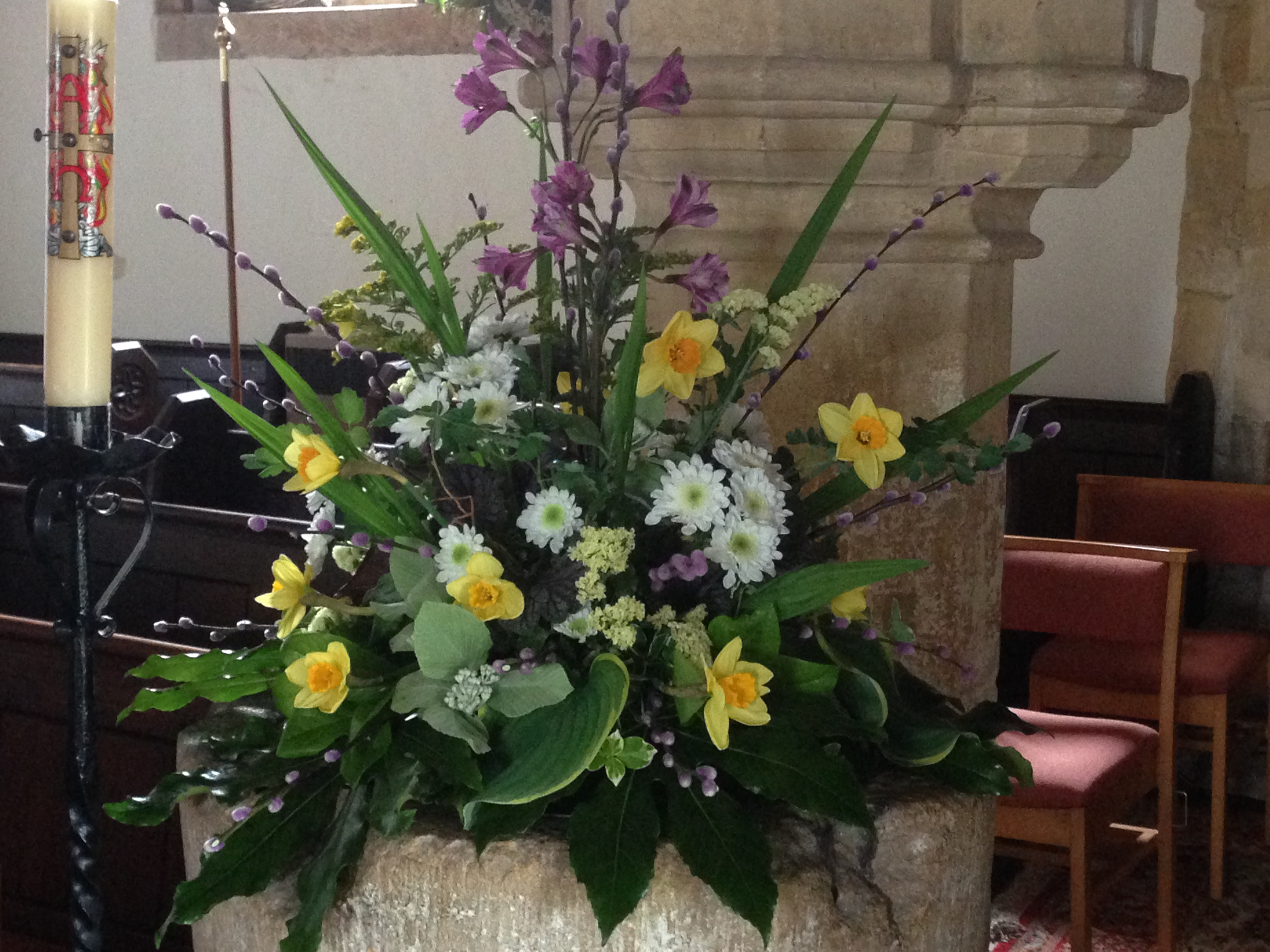 Flowers Willersey Church 2017 09