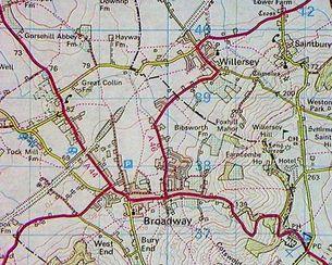 Original Roads in Willersey