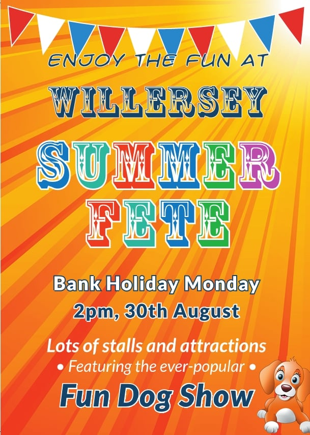 Willersey Fete Poster 2021