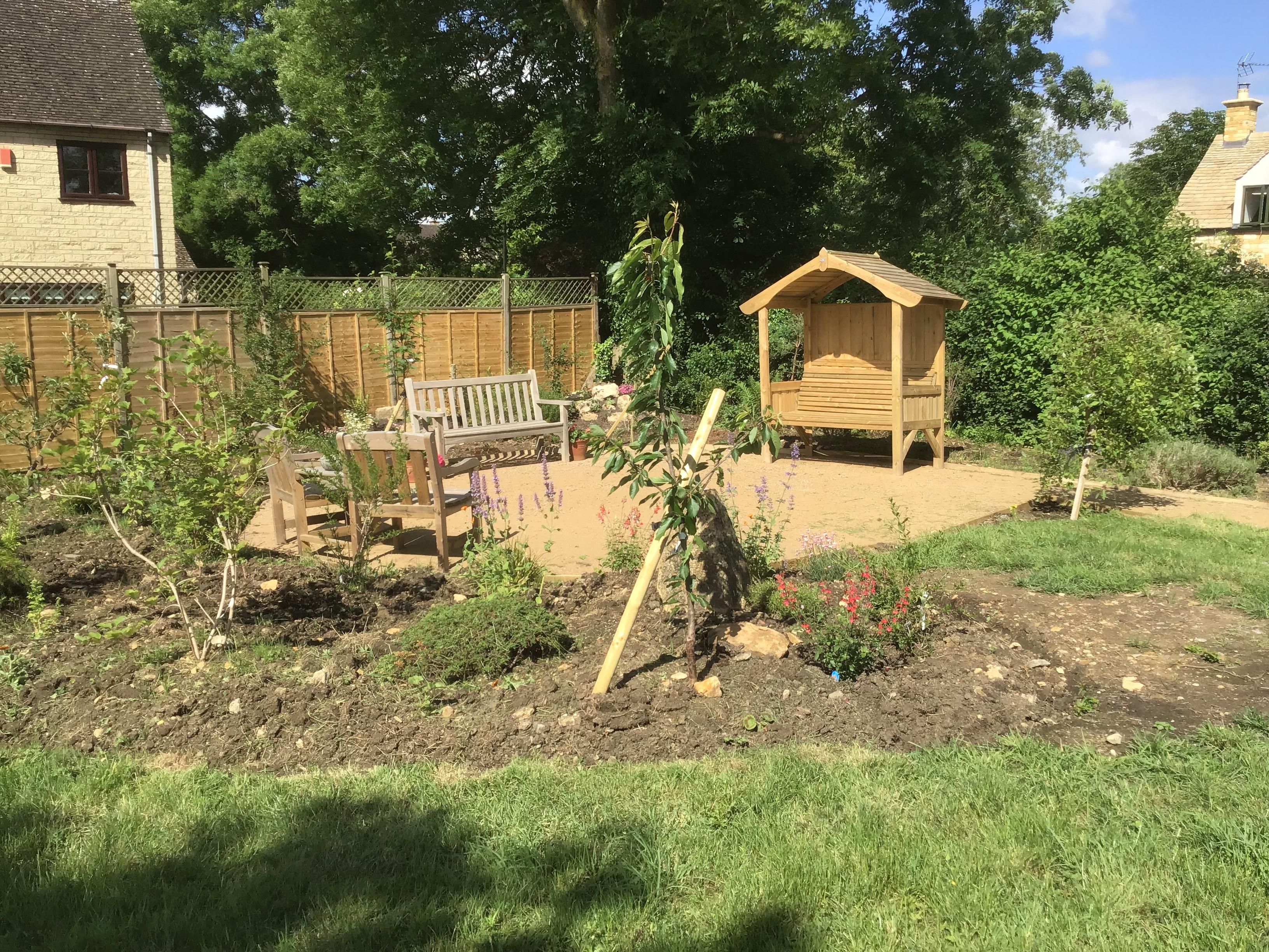 Willersey Hall Community Garden 2021